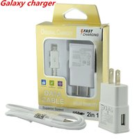 Wholesale Full charger Samsung Galaxy S7 Wall Charger kit usb Adapter Home Plug For Sumsung Galaxy S7 NOTE LG HTC Huawei True Full A US EU Plug