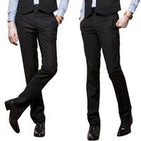 Wholesale 2016 Classic Men s Trouser Straight Suit Trousers Dress Pants Business Casual Straight Suit Pant For Man Classic trousers