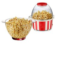 Wholesale XIANGJUN automatic popcorn machine home popcorn machine red stripes of small electrical appliances