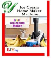 Wholesale Fruit Yogurt Ice cream maker electric homemade diy smoothie machine magic slushy frozen dessert soft serve for kids birthday party supplies