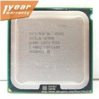 Wholesale Original Xeon X5492 Processor GHz MB MHz Quad Core Server LGA CPU SLBBD