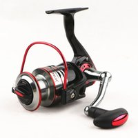 Wholesale Spinning Reel Painting - Anti seawater corrosion fishing reels Spinning Metal Spool Carp Coil Wheel High-grade paint No clearance reactionary structure