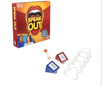 best fun games - 2016 Speak Out Game KTV party entertainment toy for fun newest best selling toy DHL from faststep