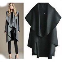 Wholesale Hot Sale Women s Fashion Wool Coat Ladies Noble Elegant Cape Shawl poncho wrap scarves coat cardigan new fashion