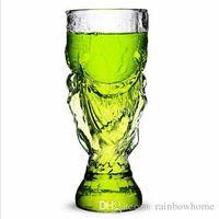 beer trophy - Original Football World Cup Trophy Shape Beer Beverage Champagne Glass Cup Wishkey Wine Drinking Mug Cups Glasses ML Retail Package