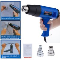 Wholesale 1800W Adjustable Temperature Electronic Hot Air Heat Gun V V Hand Held Hot Gun With Wind Mouth