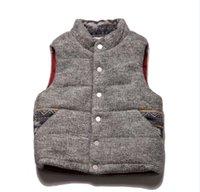 Wholesale Boys Country Road Puffer Vest Sleeveless Jacket Coat winter Waistcoat coat
