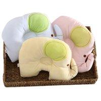 baby corrective - Lovely Newborn Head Positioner Baby pillow baby shaping pillow child corrective summer newborn oval shape pillow