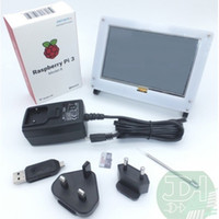 b kits - Raspberry Pi Model B Kit includes inch touchscreen LCD with acryllic cover GB class microSD V A Adapter HDMI Connector