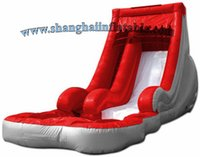 Wholesale PVC tarapulin factory price inflatable slide for amusement park for sale