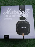 Cheap Marshall Major II 2 Headphones With Mic DJ Headphone Headset Professional DJ Headphone Second Generation noise cancel PK studio 2.0 wireless
