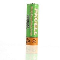 aa battery discharger - 6 x PKCELL MAH V Low Self Discharger AA Rechargeable Battery battery operated tealight candle