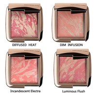 Wholesale 2016 NEW Arrival Hourglass Makeup Face Blush Ambient Lighting Powder Natural Blusher Palette Long lasting Cosmetic Blushes DHL