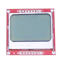 Wholesale New Arrival Top Selling Hot Sale for Nokia Liquid Crystal LCD Display Module White Backlight PCB adapter for Arduino