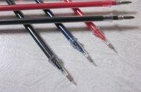 Wholesale 100 Gel pen Refill pen ink Bullet syringe bulk Stationery Caneta mont Office accessories school supplies