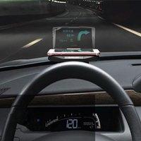 Wholesale Creative Folding Mobile GPS Navigation Bracket HUD Head Up Display For Smart Phone Car Mount Stand Phone Holder Safe Adsorption