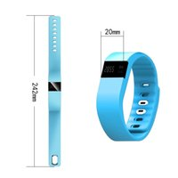Wholesale Free DHL TW64 Fitness Tracker Bluetooth Wristband Smart Pedometer Bracelet For iOS Samsung Android TW64 PK Fitbit Mi bands