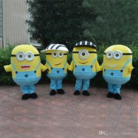 Wholesale 2016 New Despicable me minion mascot costume for adults Carnival party despicable me mascot costume