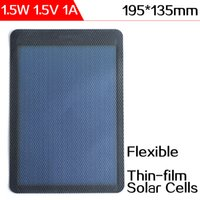 amorphous panels - ELEGEEK W V Flexible Solar Cells Amorphous Silicon Mini Thin Film Solar Panel for DIY Charger and Scientific Experiment