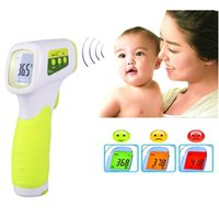 Wholesale Health Care Digital Electronic Non contact Ear Forehead Infrared Thermometer CE FDA Baby Adult thermometer