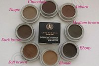Wholesale 120PCS HHA817 Anastasia Dipbrow Pomade Beverly Hills Blonde Auburn Chocolate Dark Brown Ebony Waterproof Eyebrow g Oz Full Size
