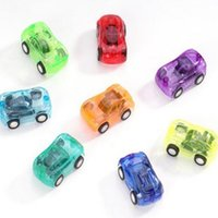 Wholesale New Arrival Pull Back Car Candy Colors Plastic Cute Toy Cars For Children Hot Wheels Mini Car Model Kids Toys Boys Gift