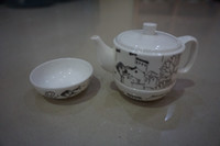 Wholesale 2016 top grade Tea Domestic cup suit ceramic utensil Gift tea set Kung fu tea set