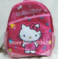 Wholesale DHL HighQuality Hello Kitty Children s School Bag Rucksack Cartoon School Backpack G2351 on Sale