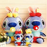 big baby bottles - Doll stitch cm Lilo and stitch bottle feed scrump in pajamas plush stuffed baby toy gift plush feeding bottle