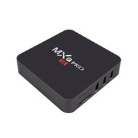 Wholesale MXQ Pro Android5 TV Box DDR3 G Nand Flash G Amlogic S905 Quad Core GHz WIFI K H XBMC IPTV Media Player