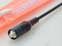 Hot vente NAGOYA NA-771 SMA-Male Dual Band Two Way Radio Antenne pour ZT-2R VX-2R TH-UVF9 TH-UV3R