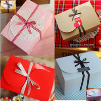 Wholesale Cute beauty colors cm biscuit Boxs Cookies Box pastry candy gift box moon cake box candy box