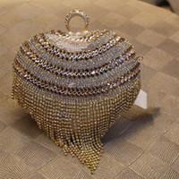 beads bags and wallets - Lady Wallet Pearl Rhinestone Clutch Heart Shape Party Bag Women Pearl Bead Evening Bag Fashion Bridal Wedding Purse bolsa mujer