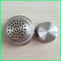 Wholesale 2sets stainless steel Cocktail Shaker Lid with Seals No Leaking or Rust for Mason Jars