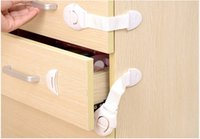 Wholesale Cabinet Door Drawers Refrigerator Toilet Lengthened Bendy Safety Plastic Locks For Child Kid Baby Safety WA0180