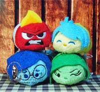 anime hate - Tsum tsum Inside Out Fear Anger Happy Sad Hate Lovely holiday gift Plush toys screen widget