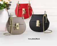 bags hardware buckles - Young Ladies Fashion Shoulder bags Good touch leather mini casual bags High quality hardware buckle and chain first hand prices Accept OEM