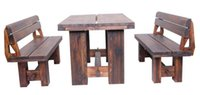 Wholesale Outdoor Furniture High Quality Wooden Garden Set