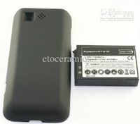 battery talk time - 2300mAh G1 HTC Extended Battery With Black Back Freeshipping Comparabale standby and talk time