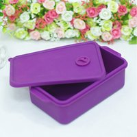 Wholesale Beautiful and practical the new fashion and green students fresh crisper lunch box insulation silicone boxes Xiangliao microwave lunch boxes