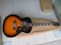 Wholesale Hot Sell Brand New Sunburst SJ200 VS Guitar Strings Acoustic Electric Guitars With Pickups