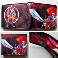 animations purse holder - Cartoon animation Thundercats Logo wallets Purse Multi cm Leather New Hot W151