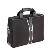 Wholesale Hot Fashion Hand Laptop Bag Desktop Bag Black Brown Color Inch Bag for Computer Ipad For Business Casual Use