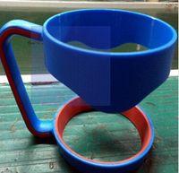 Wholesale 30oz Rambler Tumbler Cup Accessories Colorful Handles Black Blue Pink DHL