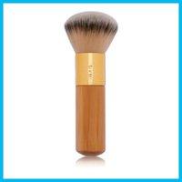 badger airbrush - Tarte Buffer Airbrush Finish Bamboo Foundation Brush Makeup Brushes Markup Tool High Quality