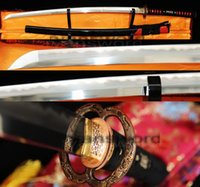 abrasive materials - HIGH QUALITY COMBINED MATERIAL CLAY TEMPERED ABRASIVE JAPANESE KATANA SWORD RED RAYSKIN