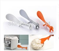 Wholesale Can stand the squirrel other kitchen cooking spoon shovel appliances color random distribution
