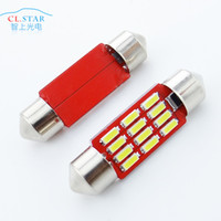 Wholesale The new small car LED light mm smd double pointed the reading light car dome light