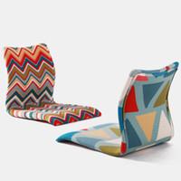 Wholesale Zaisu Floor Chair Traditional Japanese Furniture Cushion Chair Design Living Room Floor Tatami Zaisu Legless Chair