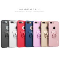 bearing bracket - For iphone quot Plus quot Case Apple iPhone7 Ring Holder Cover Luxury Hardness PC shell Mobile phone cases Bear ring bracket